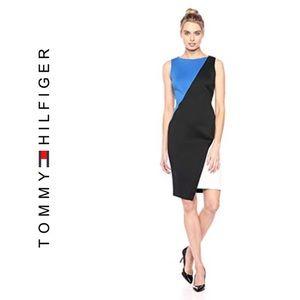 Tommy Hilfiger Scuba Hem Asymmetrical Dress NWT